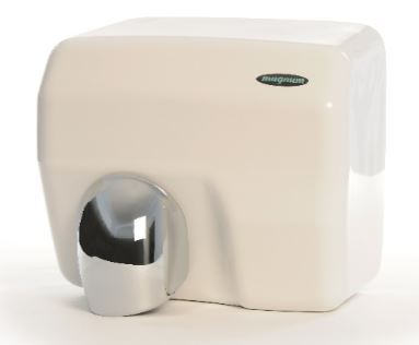 Magnum Multi dri hand and face dryer in white (new model)