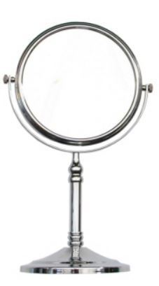 "6"" free standing mirror double sided"