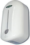 Lunar automatic soap dispenser with white front
