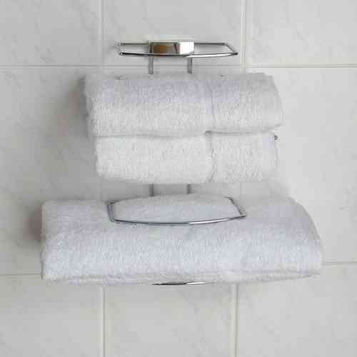 Towel Tidy for two guests in chrome finish